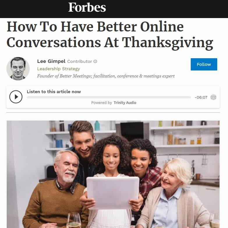 You are currently viewing How To Have Better Online Conversations At Thanksgiving