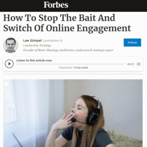 Read more about the article How To Stop The Bait And Switch Of Online Engagement