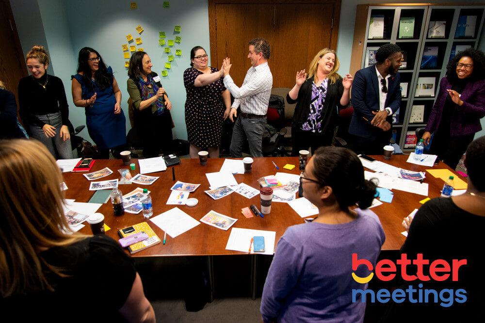 Washington DC workshop on conference networking ideas
