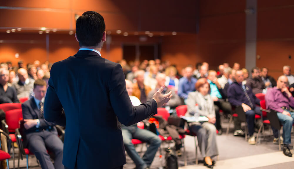 meeting facilitator for conferences and corporate retreats